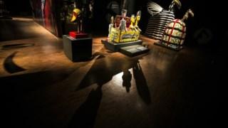 Exposição de máscaras e marionetas do Mali no Museu Nacional de Etnologia