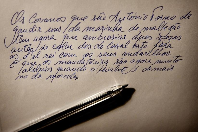O minderico é uma língua regional no distrito de Santarém