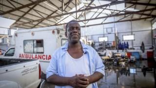 O presidente da câmara da Beira, Daviz Simango