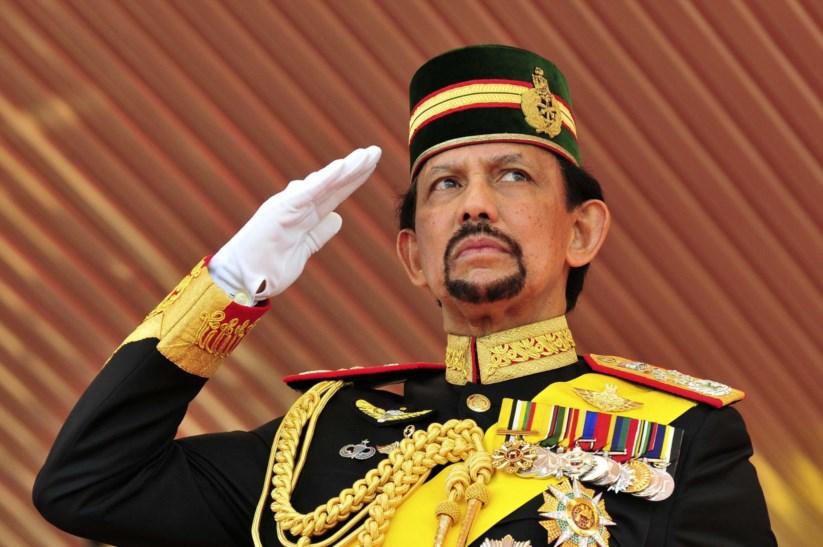 O sultão do Brunei, Hassanal Bolkiah