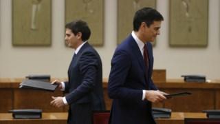 Albert Rivera já garantiu que o Ciudadanos não viabilizará um Governo de Pedro Sánchez