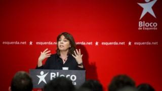 Catarina Martins. coordenadora do Bloco de Esquerda