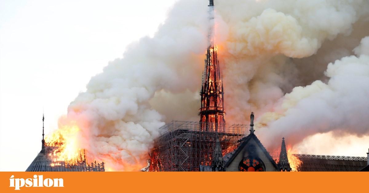 """""""Vamos reconstruir"""" a catedral de Notre-Dame, garante vereador português da Câmara de Paris"""