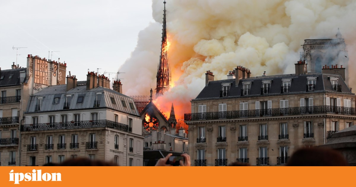 """Reconstrução da catedral de Notre-Dame irá abrir """"uma grande polémica"""""""