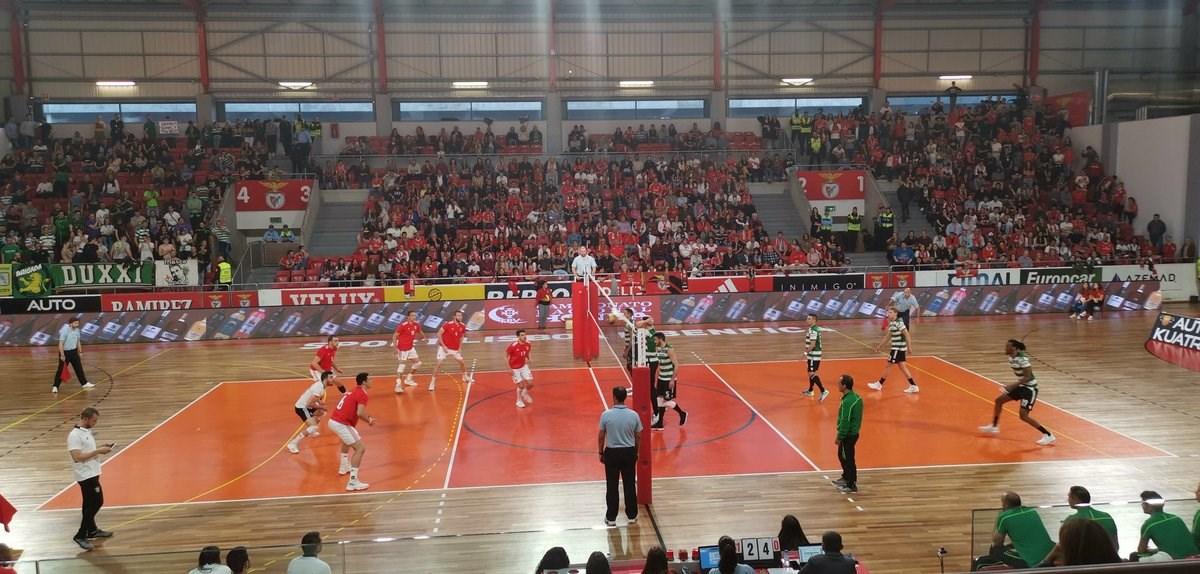 Benfica a uma vitória de ser campeão nacional de voleibol