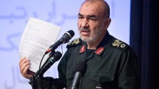 O general Salami era o vice-comandante da força de elite