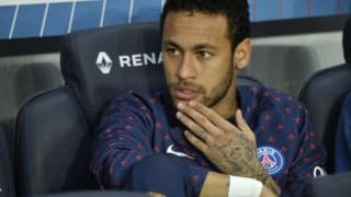 O brasileiro criticou a actuação de um árbitro.