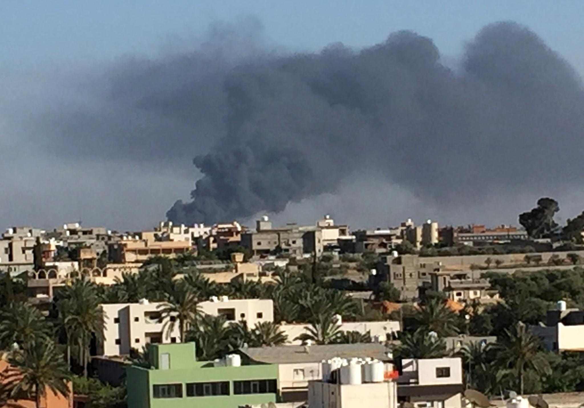 Piloto de avião abatido na Líbia diz ser português