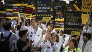 A última greve nacional dos médicos foi em Maio do ano passado
