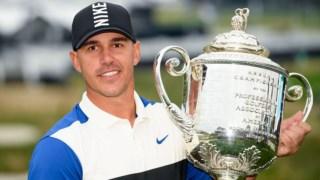 Brooks Koepka é o primeiro bicampeão em simultâneo do PGA Championship e do Open dos EUA