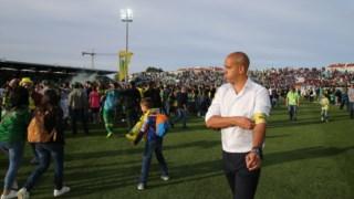 Pepa no último jogo da I Liga, que garantiu a manutenção do Tondela