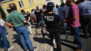 O PTP quer levar a Bruxelas as preocupações dos taxistas portugueses