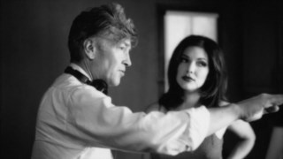 """David Lynch na rodagem de """"Mullholand Drive"""""""