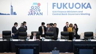 Os ministros das Finanças e governadores dos bancos centrais do G20 estiveram reunidos este fim-de-semana em Fukuoka, no sudoeste do Japão