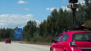 Um carro do Street View em 2009, quando o serviço começou a ser disponibilizado em Portugal