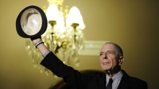 Leonard Cohen morreu em 2016