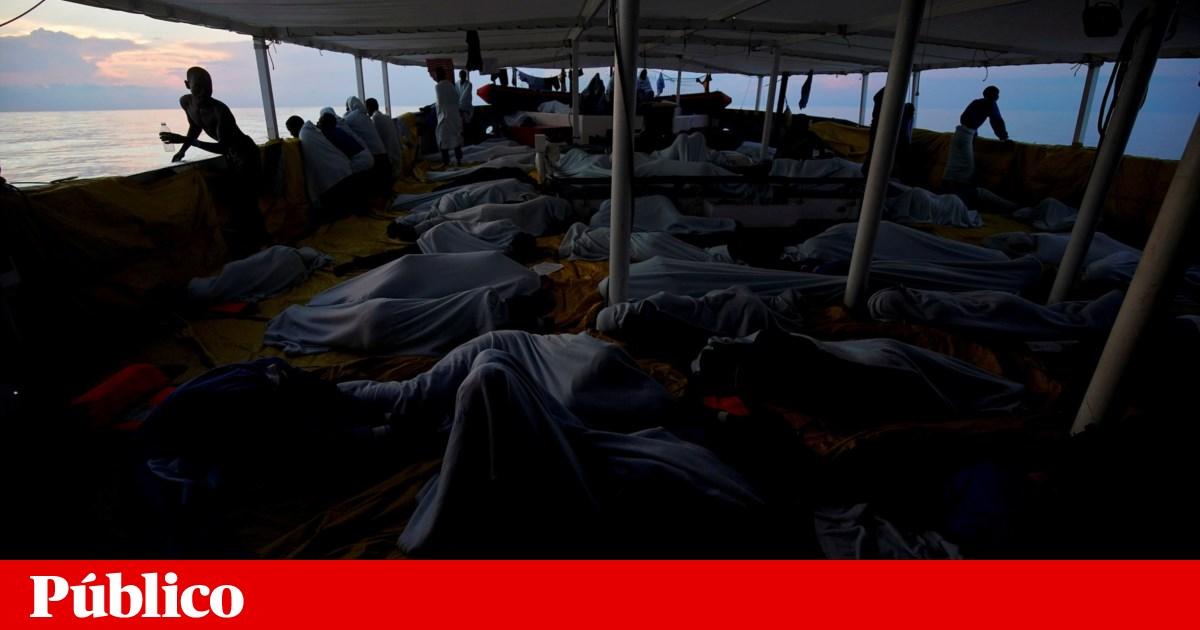 Polícia Marítima e GNR resgatam quase 100 migrantes no Mar Mediterrâneo