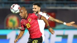 Wilson Eduardo é um dos internacionais angolanos que actua no futebol português