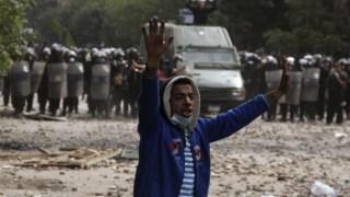 As manifestações de 2011 no Cairo levaram ao afastamento de Hosni Mubarak
