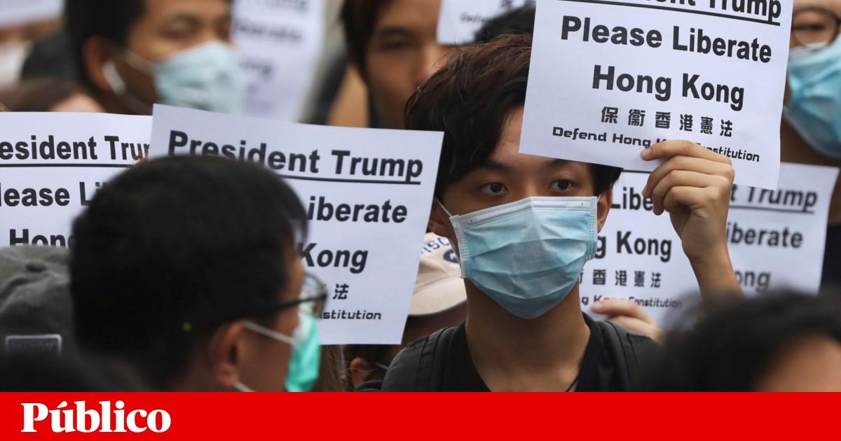 Opositores do governo de Hong Kong querem que crise seja discutida no G20