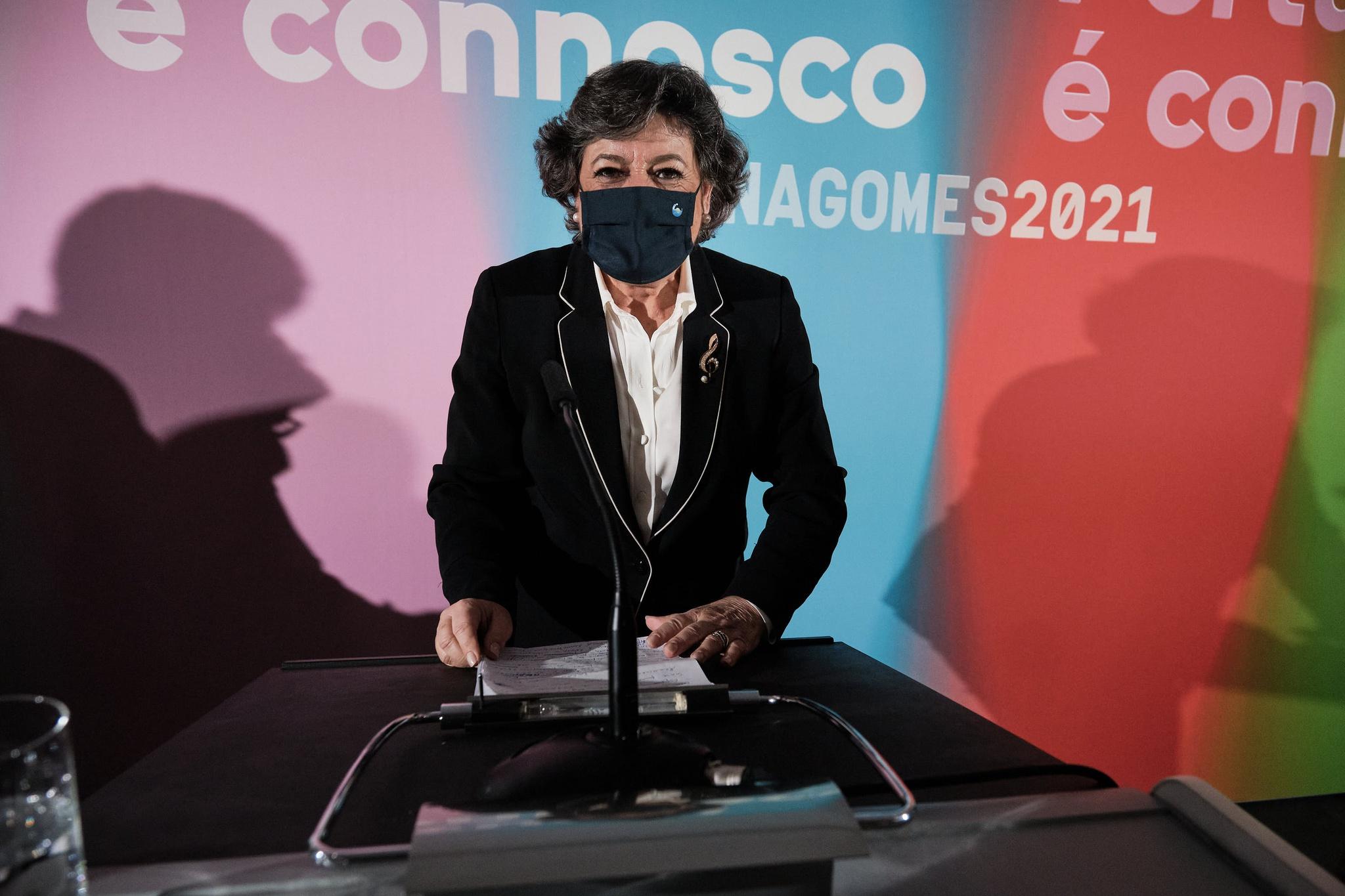 Ana Gomes ficou em segundo lugar