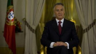 As acutilantes declarações de Václav Klaus sobre o défice nacional dominaram esta visita de Cavaco Silva