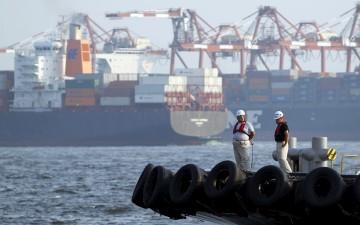 O transporte marítimo representa 3% das emissões mundiais de gases com efeito de estufa