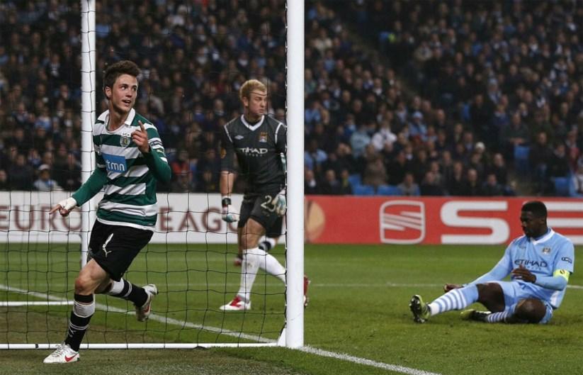 Sporting elimina Manchester City em jogo com cinco golos  1306a99be1fdc