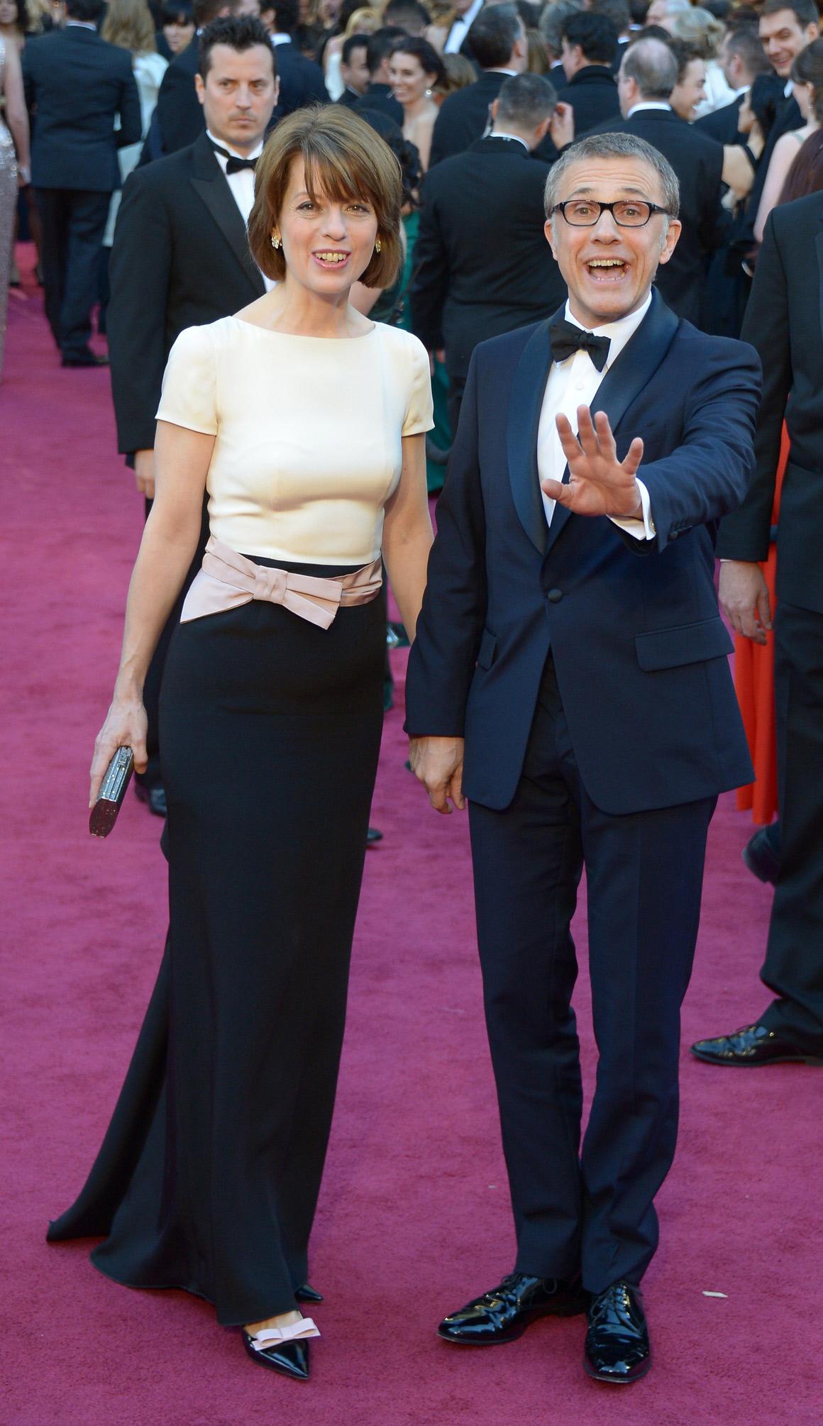 Christoph Waltz e Judith Holste
