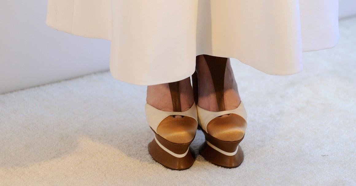 Os sapatos de Paz Vega