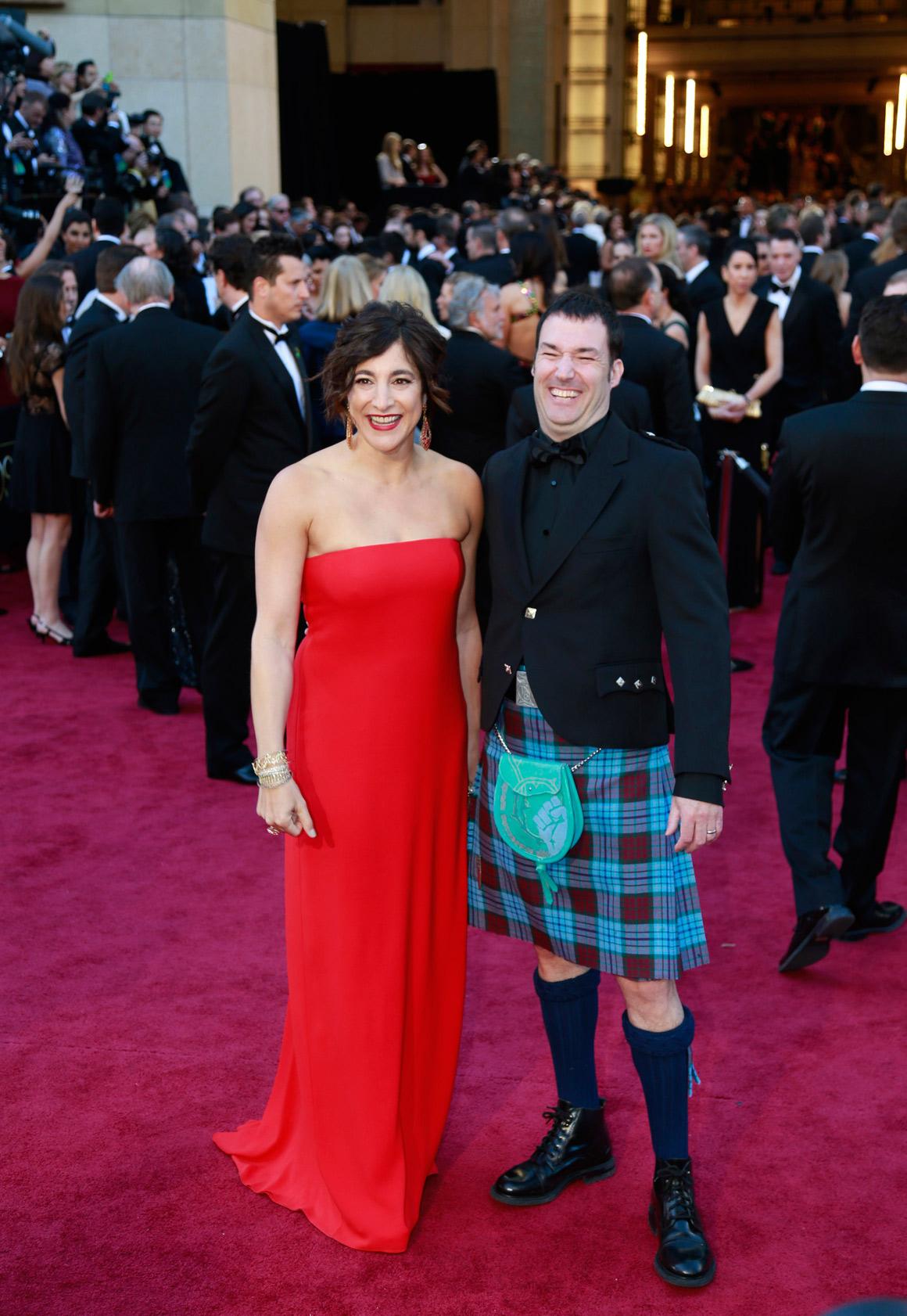 Mark Andrews e Katherine Sarafianfrom