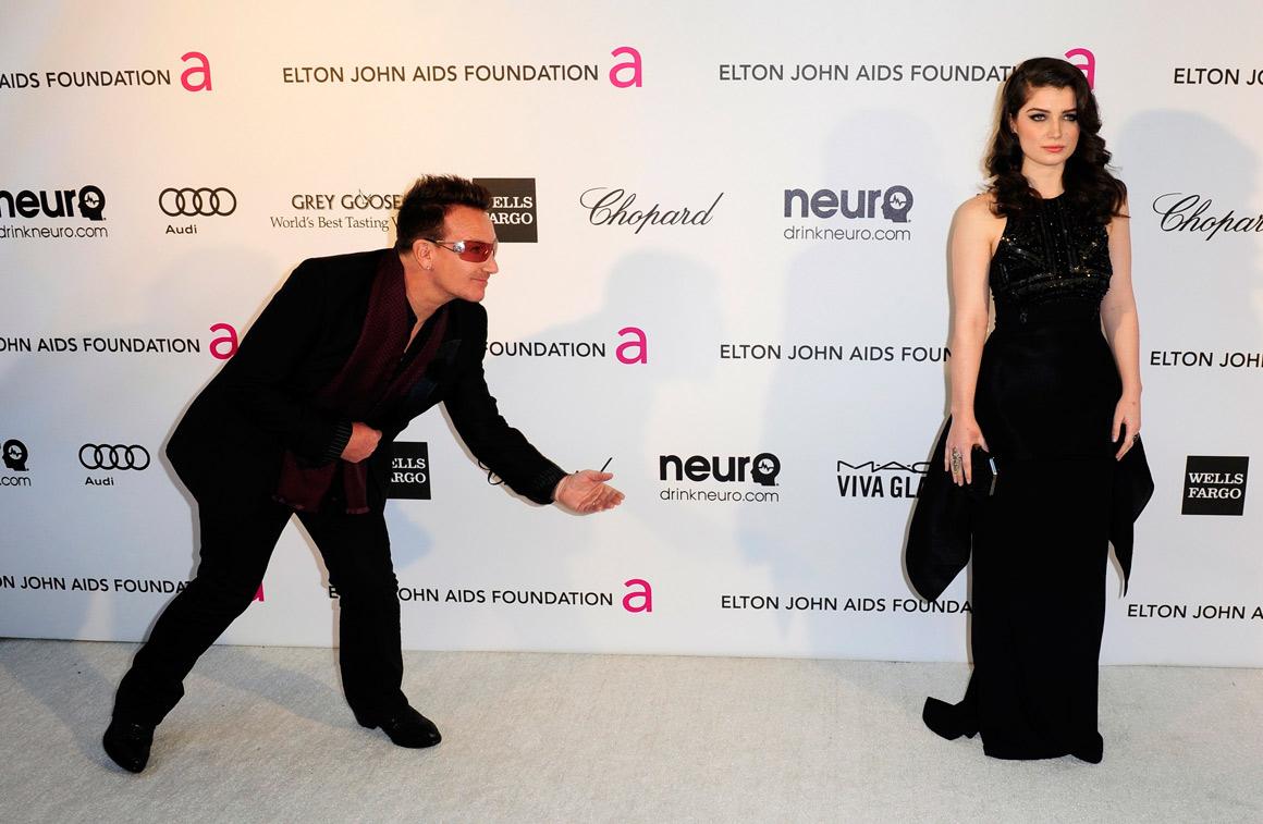 Bono Vox e a filha, Eve Hewson