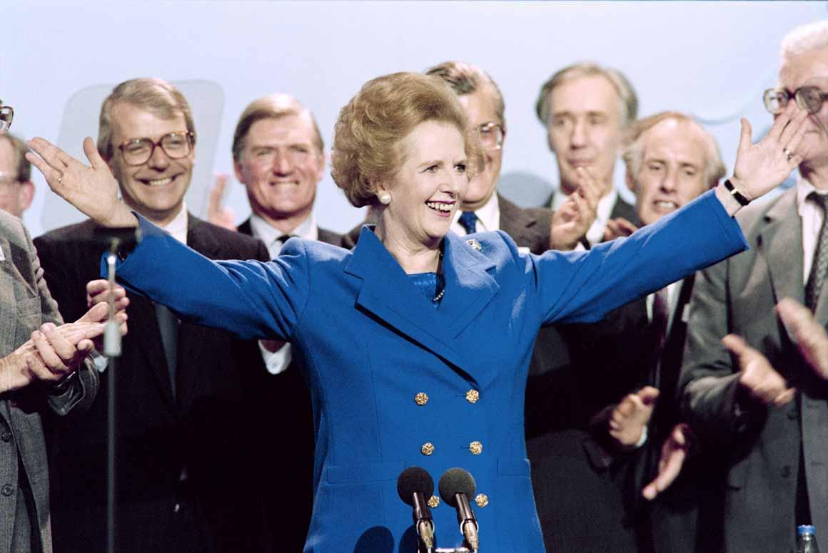 Num tempo em que a política era integralmente masculina, governo o país durante 11 anos