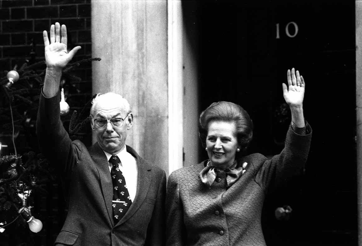 Denis, a sua fiel sombra de Thatcher durante os anos do poder