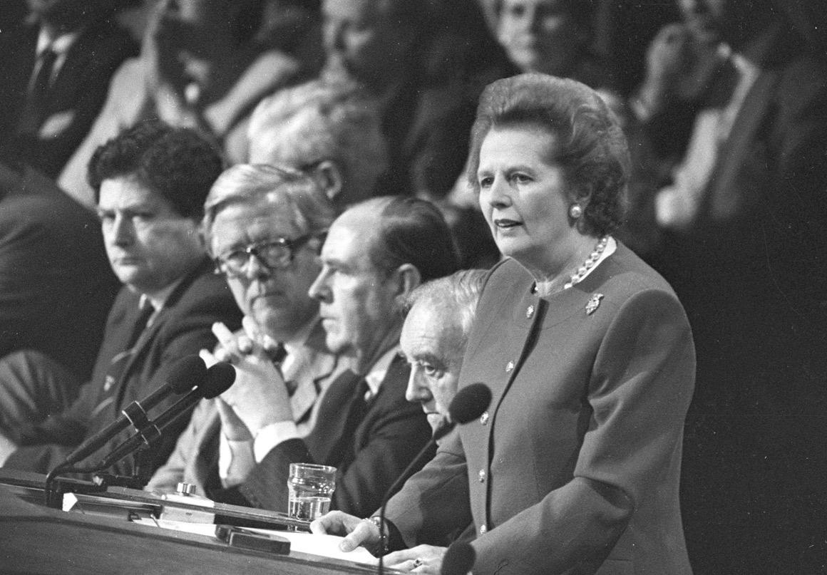 Congresso do Partido Conservador, em 1988