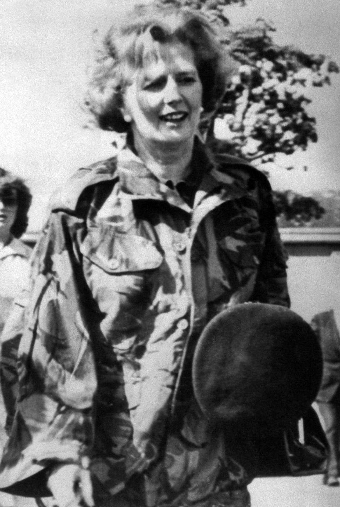 De uniforme militar, em 1979, South Armagh, Irlanda do Norte