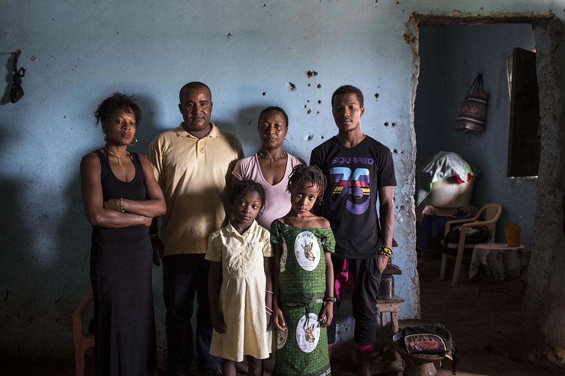 Os irmãos Indequi foram escondidos pela mãe depois da independência da Guiné que tinha medo que os matassem
