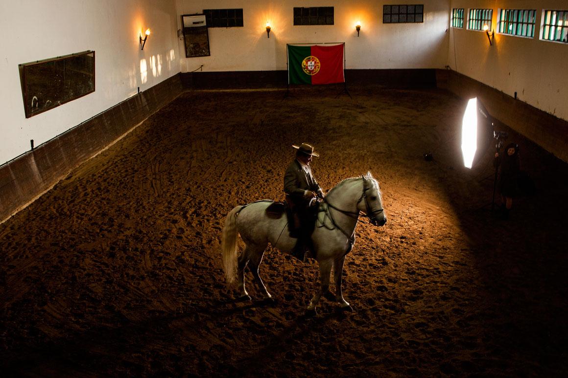Fernando Fonseca, 75 anos, criador de cavalos na Benedita