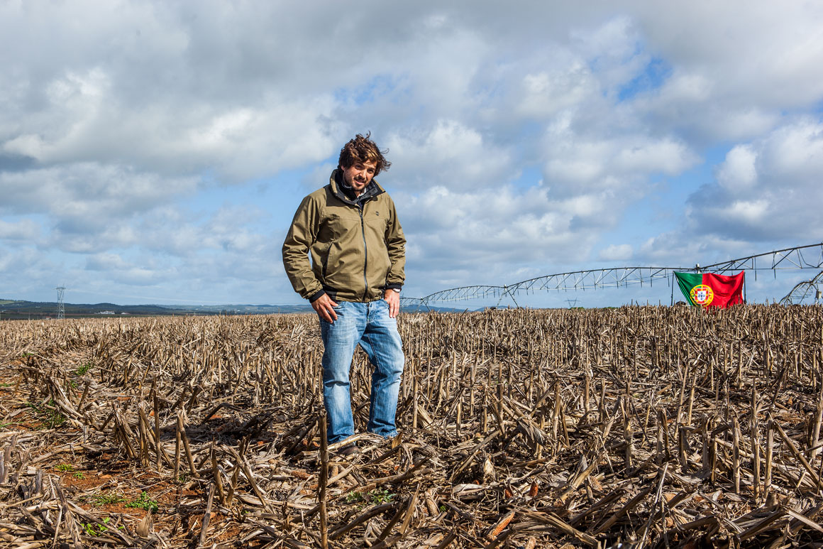 António Lima, 37 anos, agricultor em Cuba