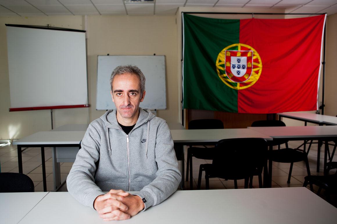 Hugo Viegas, 39 anos, desempregado