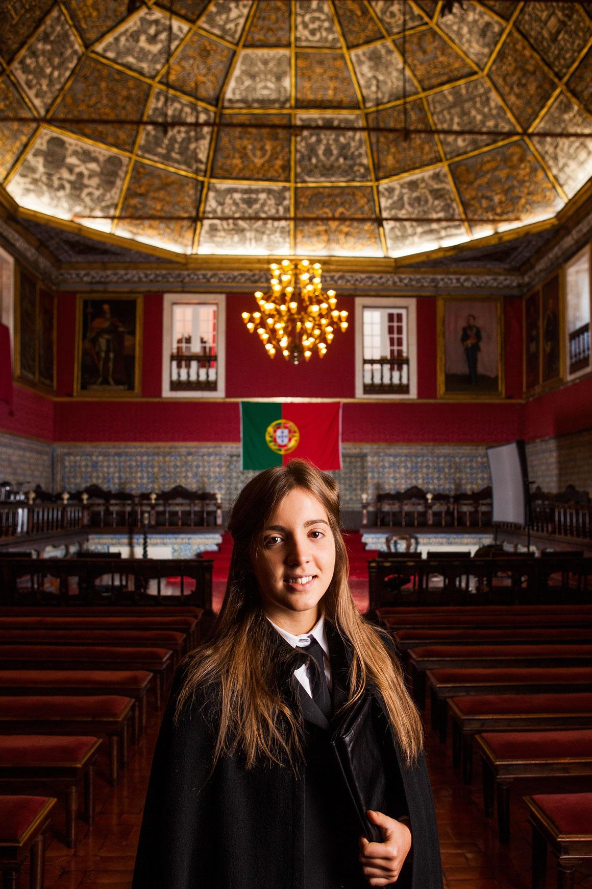 Joana Marcelino, 20 anos, estudante na Universidade de Coimbra