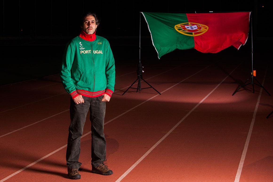 Gabriel Macchi, 37 anos, atleta paralímpico e professor