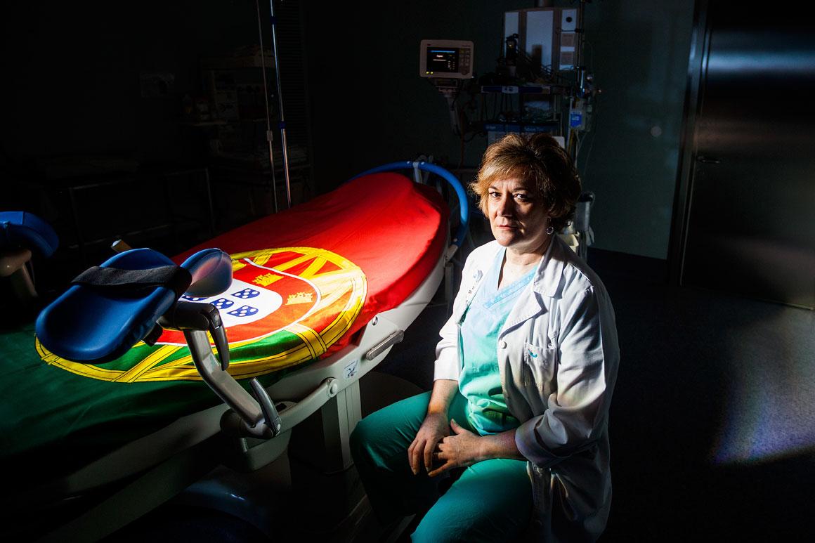 Paula Arteaga, 55 anos, obstetra no Hospital da Luz