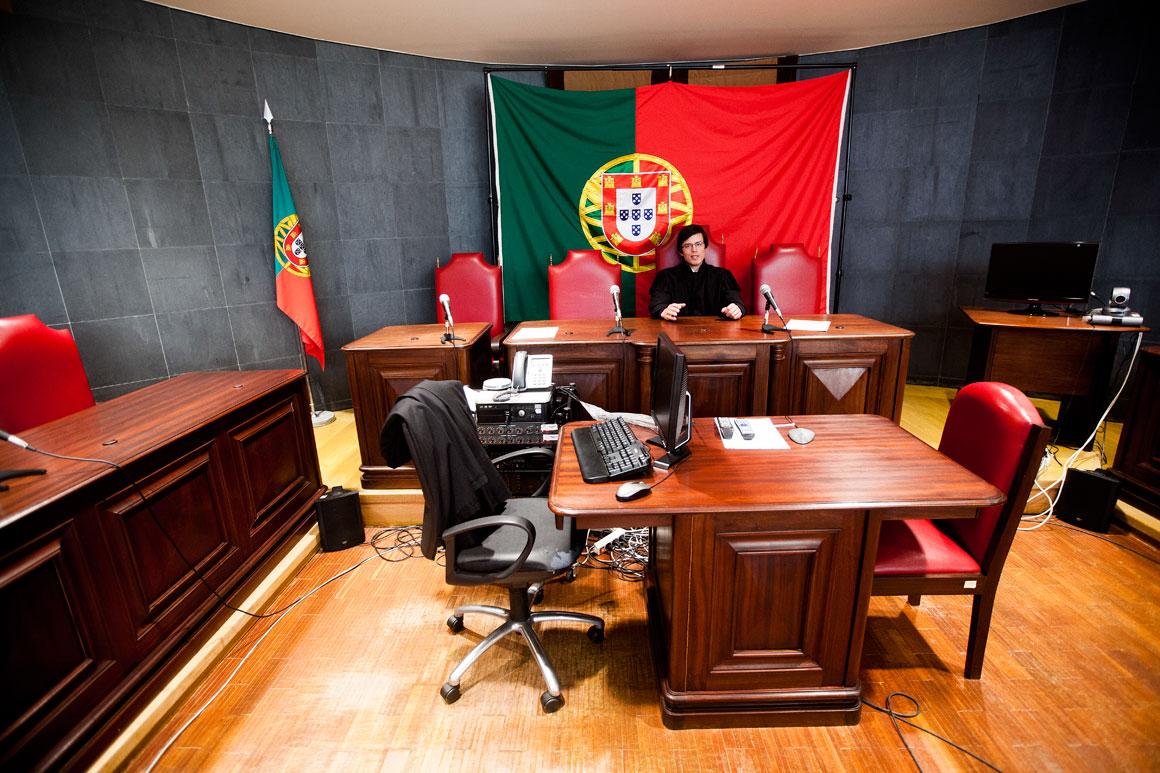 Pedro Godinho, 33 anos, juiz no Tribunal de Mértola