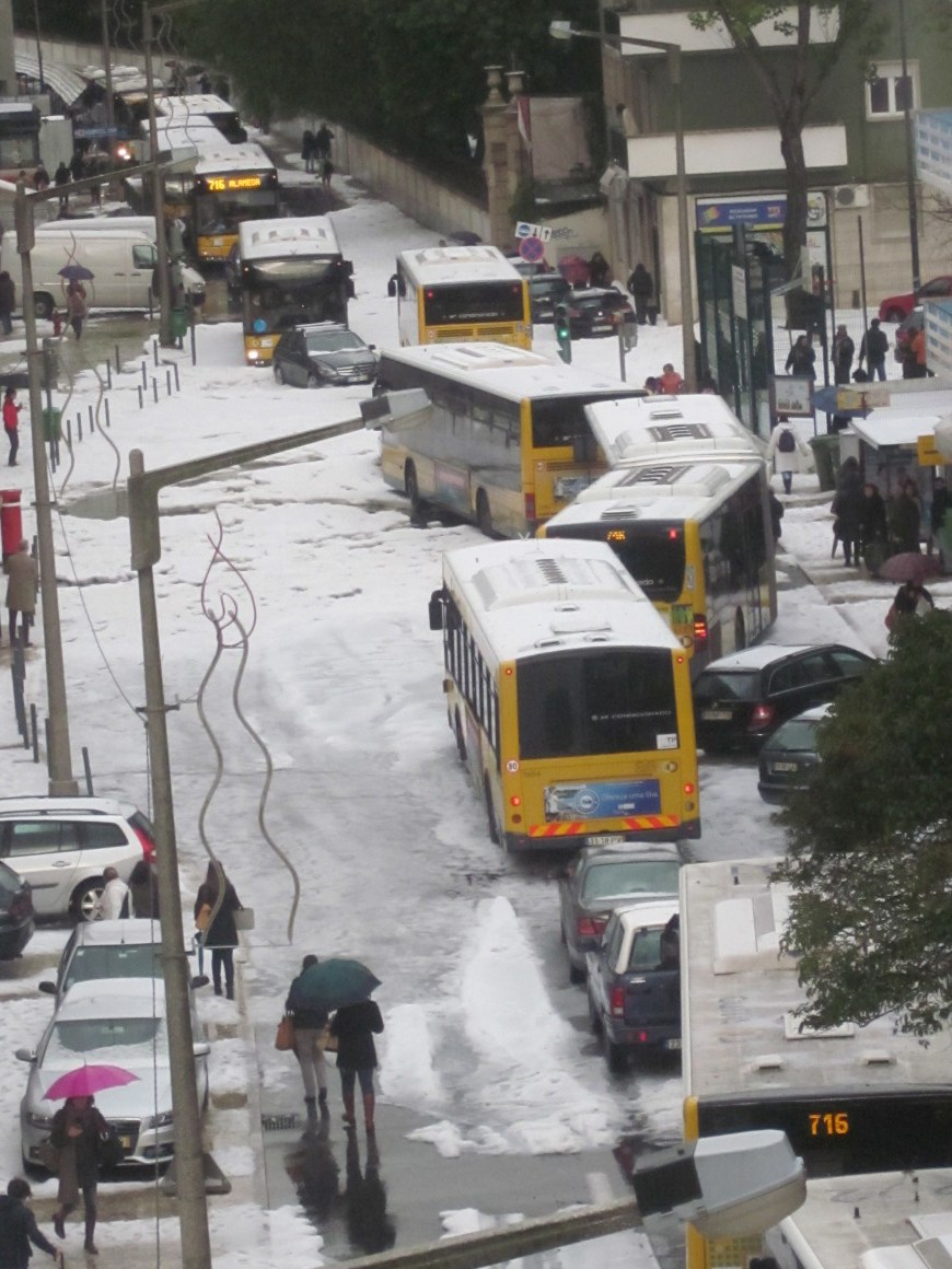 Meteorologia. O granizo visto pelos leitores da Grande Lisboa