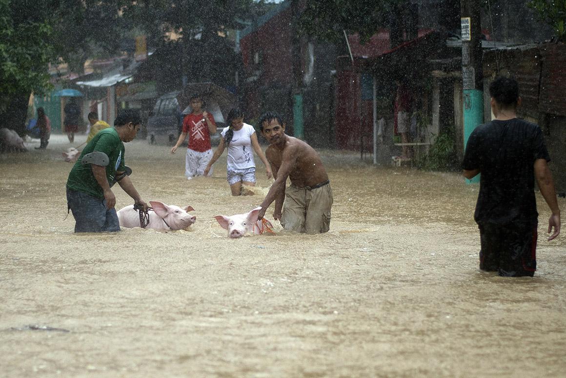 Chuvas nas Filipinas