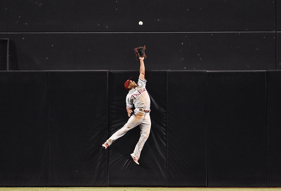 Oitava mão de um jogo de basebol, San Diego, EUA