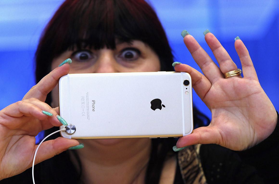Fotografar com o novo iPhone 6 Plus, Austrália