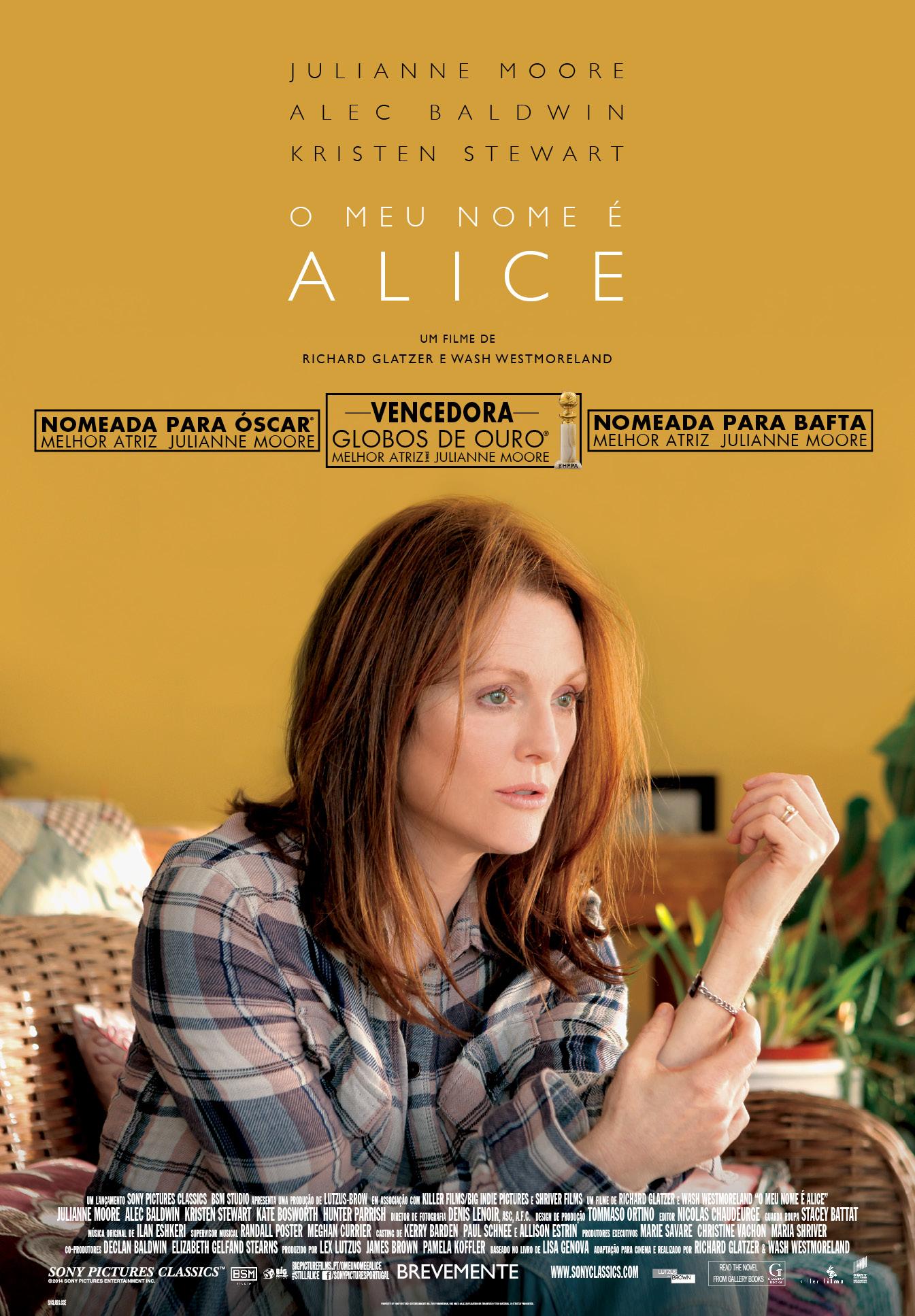 O Meu Nome é Alice - Cinecartaz