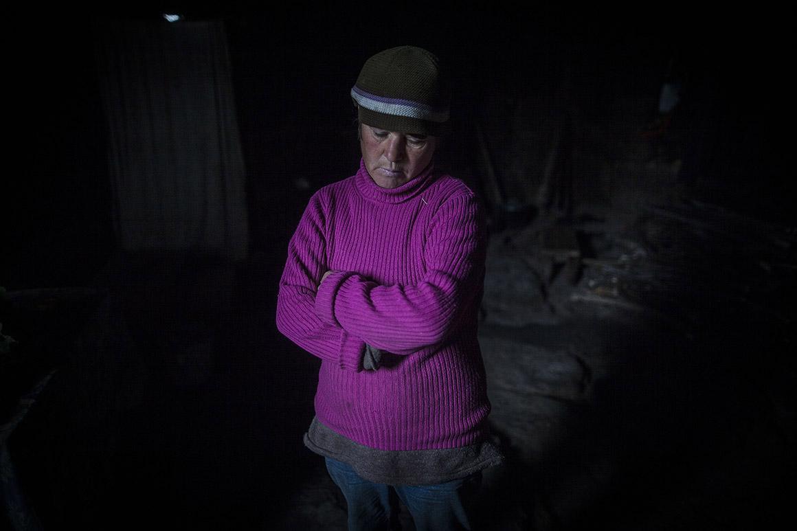 Olga vive na mesma casa desde os seis anos, já lá vão 34